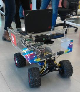 Классический робот с кинектом